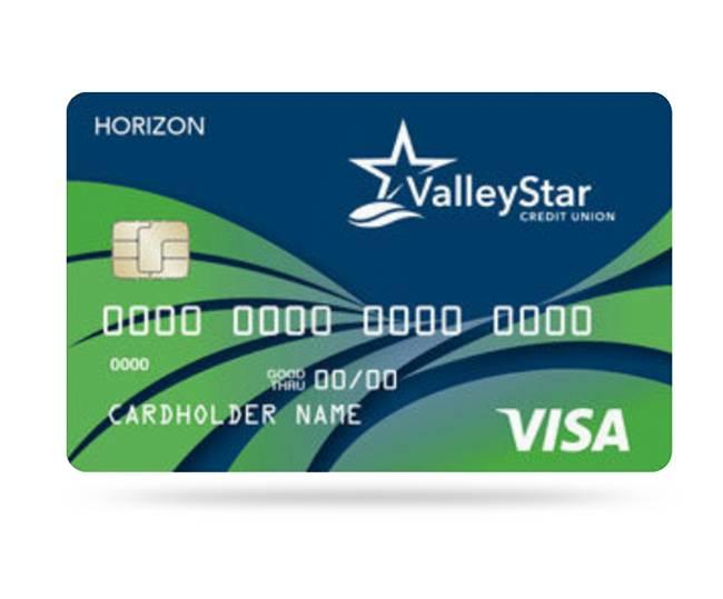 ValleyStar Visa Horizon Card